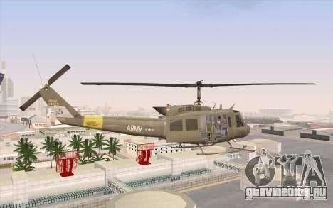 UH-1 Huey для GTA San Andreas вид слева