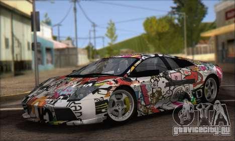 Lamborghini Murciélago 2005 Memes Editions IVF для GTA San Andreas