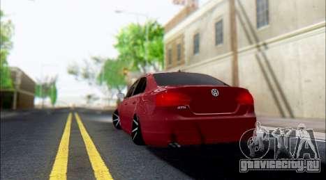 Volkswagen Jettа 1.4 МТ Comfortline для GTA San Andreas вид справа