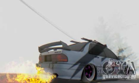 Mitsubishi Galant Generation Rock 1992 для GTA San Andreas вид сбоку
