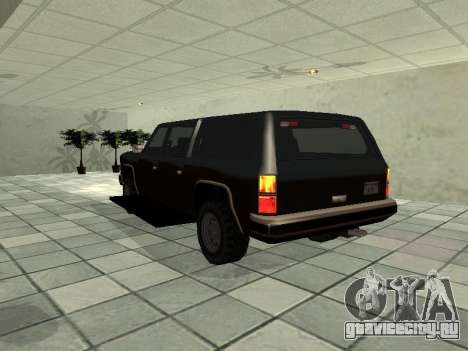 SWAT Original Cruiser для GTA San Andreas вид сзади слева