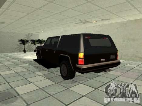 SWAT Original Cruiser для GTA San Andreas вид сзади слева