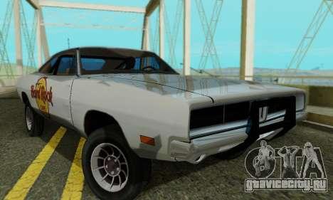 Dodge Charger 1969 Hard Rock Cafe для GTA San Andreas
