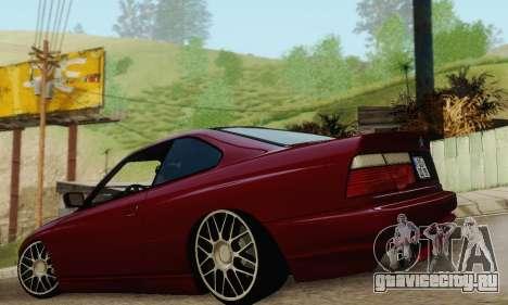 BMW 850CSI 1996 для GTA San Andreas салон