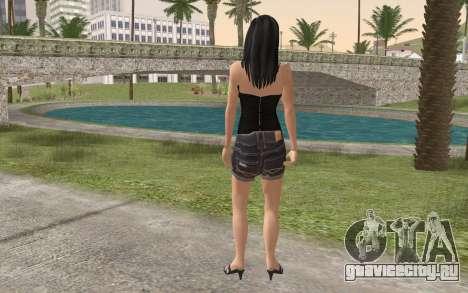 Casual Girl для GTA San Andreas второй скриншот