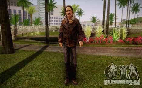 William Carver из The Walking Dead для GTA San Andreas