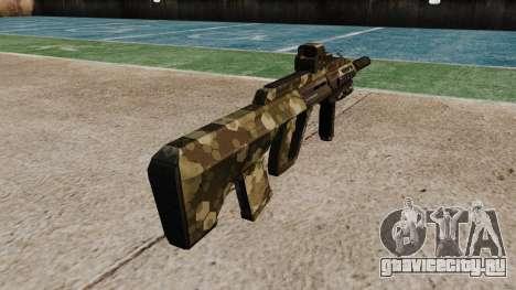 Автомат Steyr AUG-A3 Optic Hex для GTA 4 второй скриншот