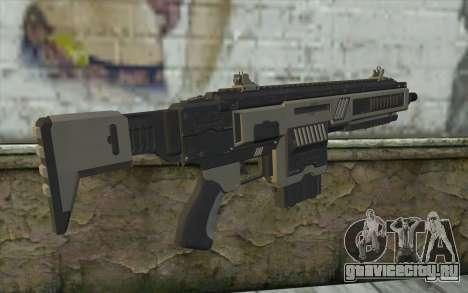NS-11A Assault Rifle from Planetside 2 для GTA San Andreas второй скриншот
