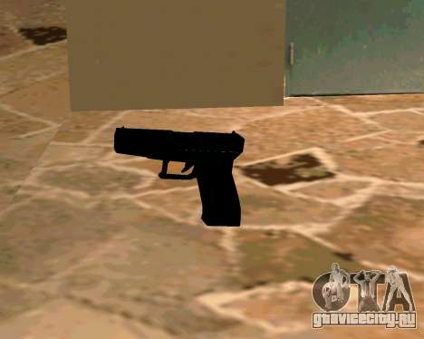 Glock из Cutscene для GTA San Andreas пятый скриншот
