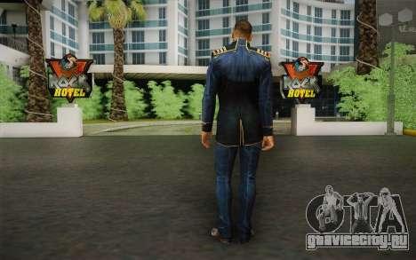 Captain David Anderson из Mass Effect series для GTA San Andreas второй скриншот