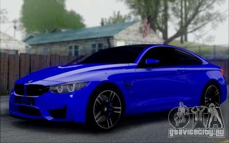BMW M4 для GTA San Andreas вид справа
