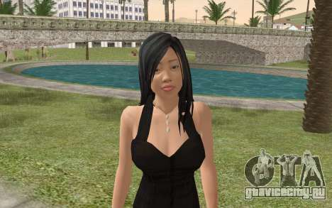 Casual Girl для GTA San Andreas третий скриншот