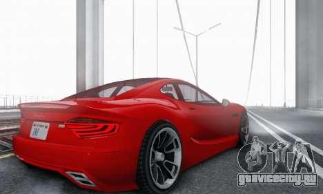 Hijak Khamelion V1.0 для GTA San Andreas вид сзади