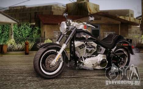 Harley-Davidson Fat Boy Lo 2010 для GTA San Andreas