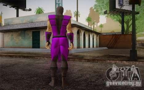 Rain из Ultimate MK3 для GTA San Andreas второй скриншот
