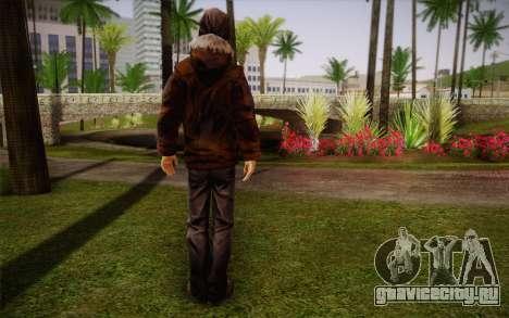 William Carver из The Walking Dead для GTA San Andreas второй скриншот