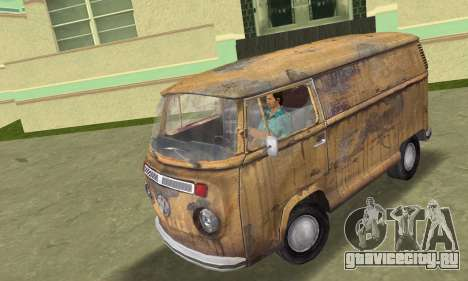 Volkswagen T2 Super Rust для GTA Vice City