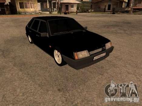 ВАЗ 2109 Бандит V 1.0 для GTA San Andreas вид сзади слева