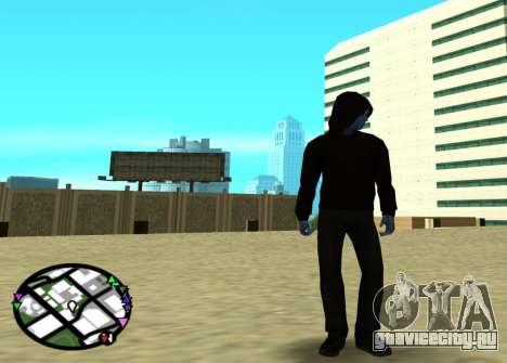 Электро из нового человека паука 2 для GTA San Andreas второй скриншот