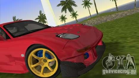 Mazda RX7 FD3S RE Amamiya Road Version для GTA Vice City вид сзади слева