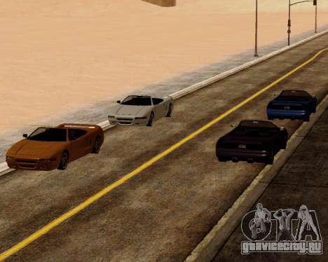 Infernus Кабриолет для GTA San Andreas вид справа