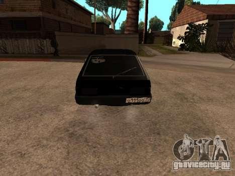 ВАЗ 2109 Бандит V 1.0 для GTA San Andreas вид слева