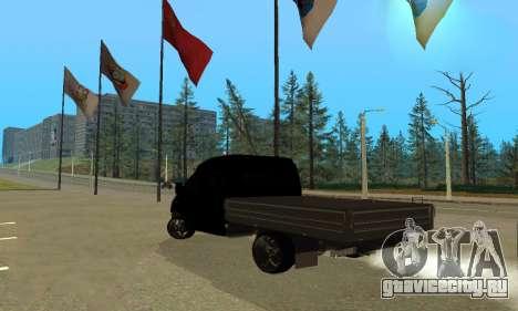 ГАЗ 3302 V8 Devils для GTA San Andreas вид справа