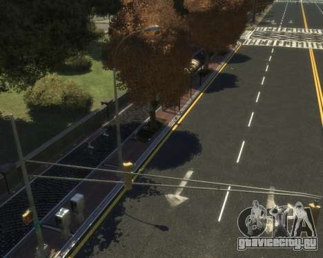 New Roads  (Textures - HD) для GTA 4