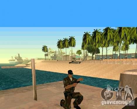 Glock из Cutscene для GTA San Andreas четвёртый скриншот