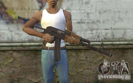 AK74 Rifle для GTA San Andreas третий скриншот