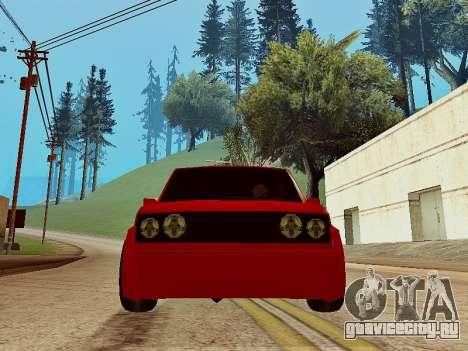 Club Sport для GTA San Andreas вид сзади слева