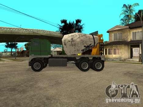 Цементовоз из GTA 4 для GTA San Andreas вид слева