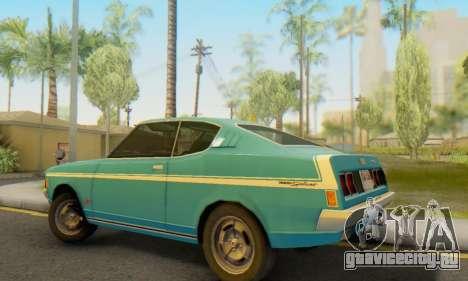 Mitsubishi Galant GTO-MR для GTA San Andreas вид сзади