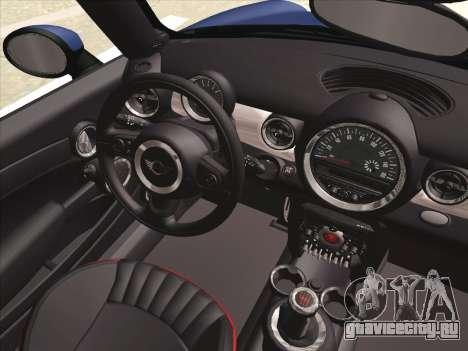 Mini Cooper Clubman JCW для GTA San Andreas вид сбоку
