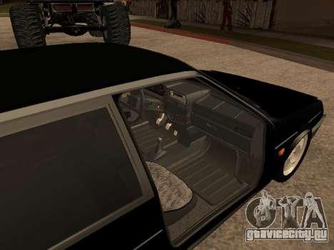 ВАЗ 2109 Бандит V 1.0 для GTA San Andreas вид справа