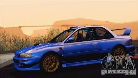 Subaru Impreza 22B STi 1998 для GTA San Andreas вид справа