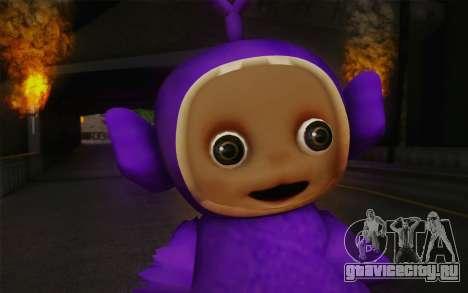 Тинки-Винки из телепузиков для GTA San Andreas третий скриншот
