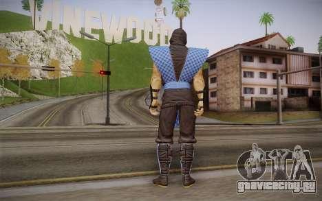 Classic Sub Zero из MK9 DLC для GTA San Andreas второй скриншот