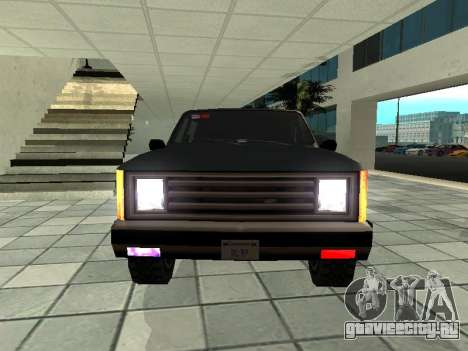 SWAT Original Cruiser для GTA San Andreas вид сзади