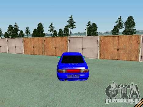 Ваз 2110 для GTA San Andreas вид сверху