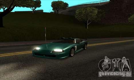 ENB mod для очень слабых ПК для GTA San Andreas второй скриншот