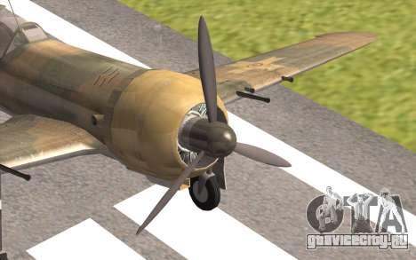 IAR 80 - Romania No 91 для GTA San Andreas вид сзади