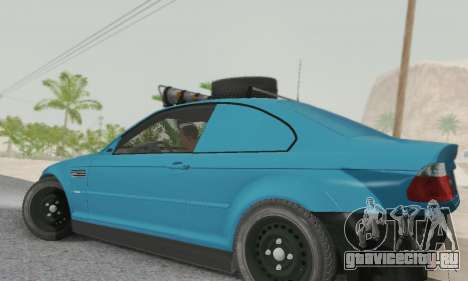 BMW M3 E46 Offroad Version для GTA San Andreas вид слева