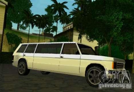Huntley Limousine для GTA San Andreas вид справа
