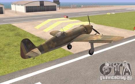 IAR 80 - Romania No 91 для GTA San Andreas вид слева