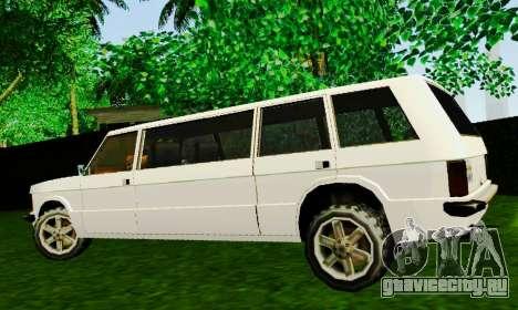 Huntley Limousine для GTA San Andreas вид слева