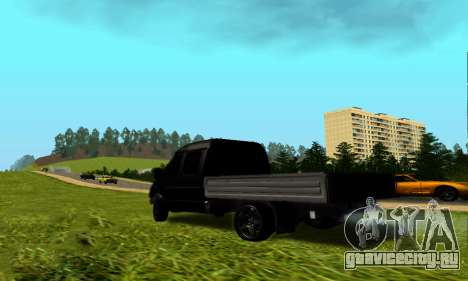 ГАЗ 3302 V8 Devils для GTA San Andreas вид сзади слева