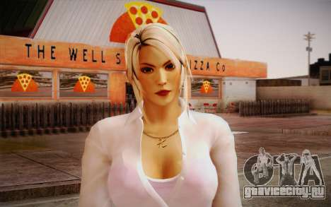 Sarah from DoA для GTA San Andreas третий скриншот
