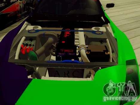 Toyota Supra Evil Empire для GTA San Andreas вид сбоку