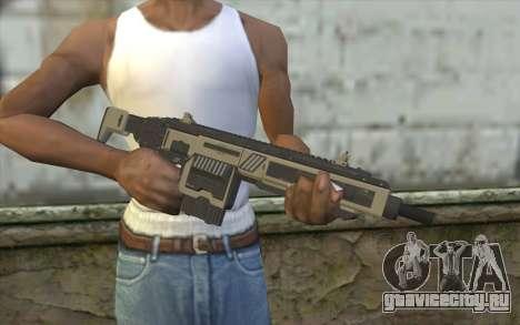 NS-11A Assault Rifle from Planetside 2 для GTA San Andreas третий скриншот